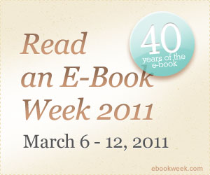 Read an eBook Week 2011
